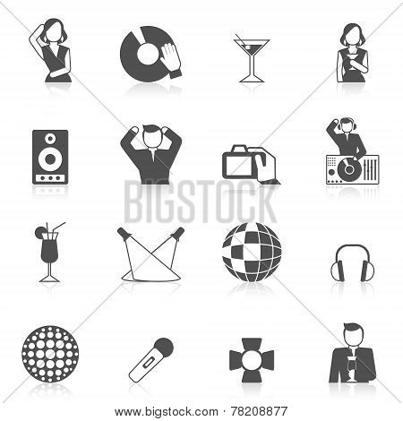 Nightclub Icon Set
