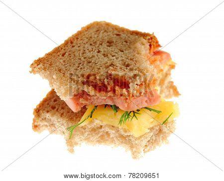 Bitten Sandwich