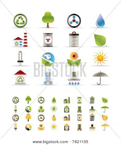 Realistic Ecology icons