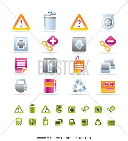 Web site and computer Icons