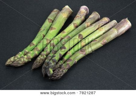 Group Of  Asparagus.