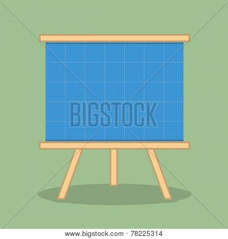 Blueprint Easel