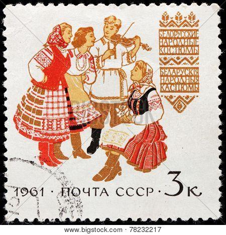 Belorussian Folk Dress