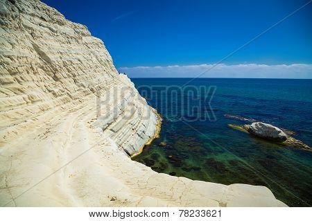 Sea View From The Scala Dei Turchi