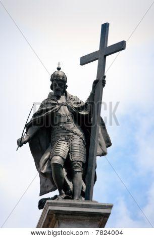 Kings Zygmunt's Statue In Warsaw