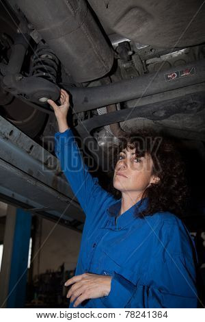 Mechanic Woman