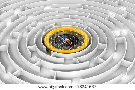 Maze to Compass