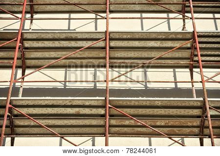Scaffolding With No People