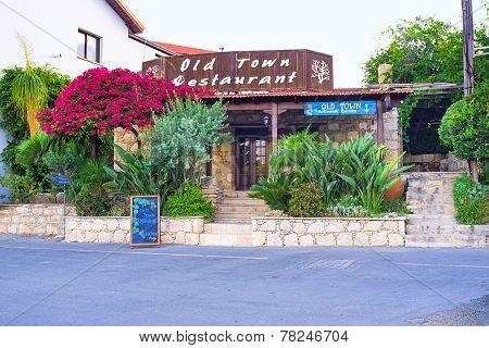 The Restaurant With Garden
