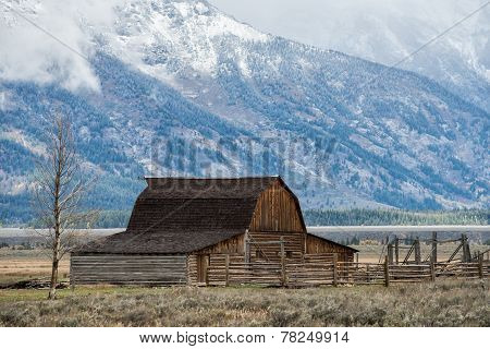 Abandoned barn in Grand Teton NP