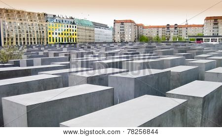 Memorial to the murdered jews, Berlin