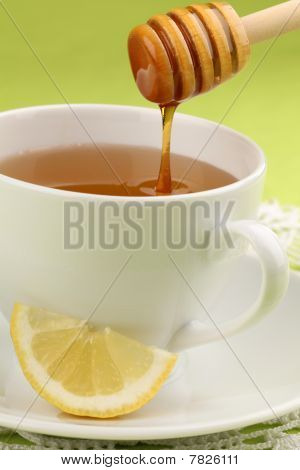 Honey Tea With Lemon
