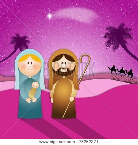 Nativity Scene For Christmas
