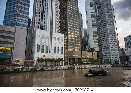 Skyscrapers Of Singapore
