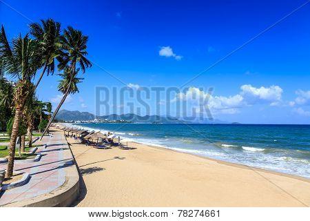 Nha Trang City Beach, Vietnam