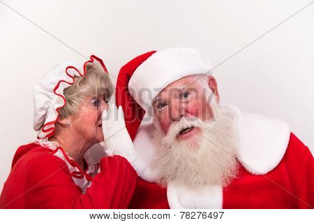 Mrs Claus Tells Secret