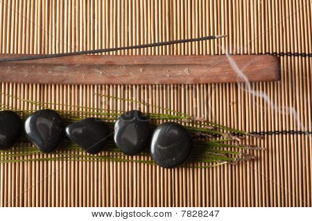 Incense And Volcanic Hot-stones