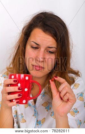 Unwell Woman