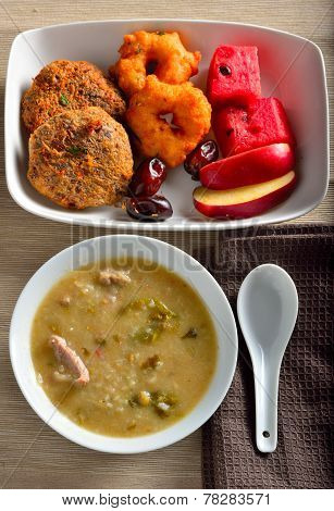 Ramadan rice soup tamilnadu