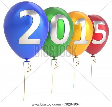 Happy New Year 2015 Balloons Party Decoration