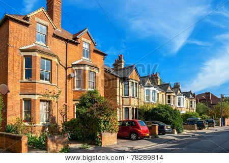 Town Houses. Oxford, England