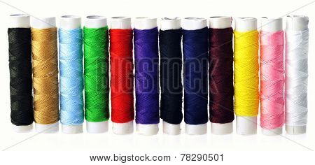 Spools Of Color  Threads