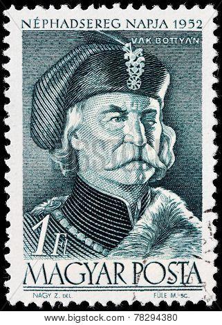 Janos Bottyan Stamp