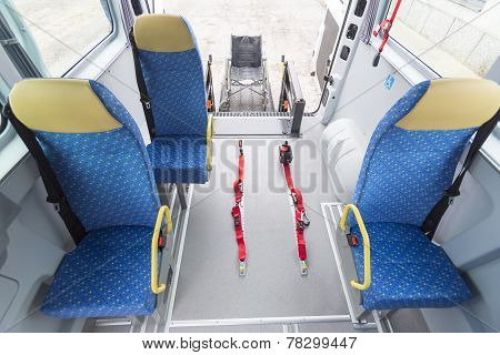 Minibus Physically Disabled