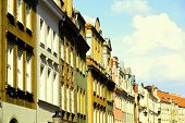 picture of tenement  - Poznan Poland  - JPG