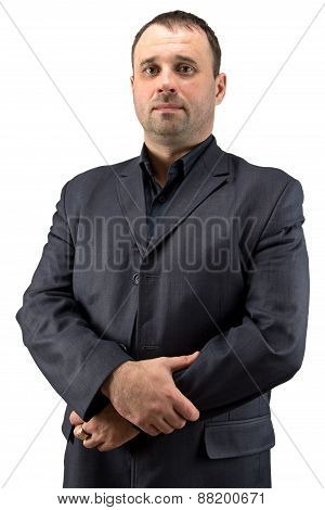 Photo of adult businessman in jacket