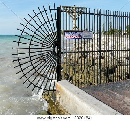 Gate At The End Of Key West