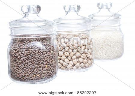 Legumes Jar