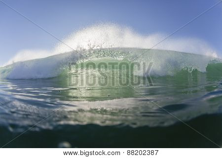 Wave Blue Water