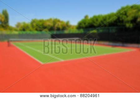 Background Image - Tennis Court