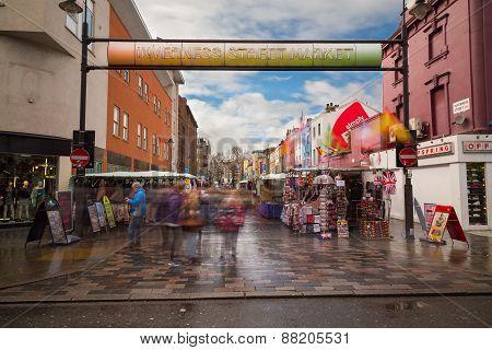 Inverness Street Market In Camden Town