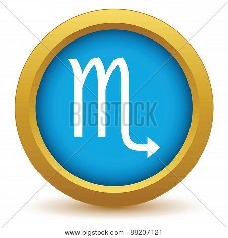Gold Scorpio icon