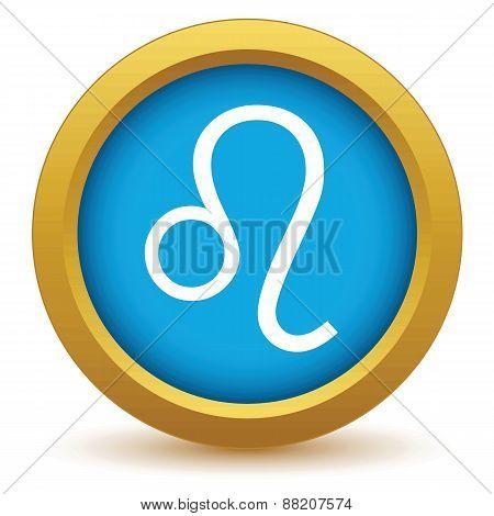 Gold Leo icon