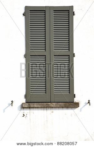 Shutter Europe  Italy  Lombardy      In  The Milano Old   Window