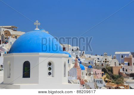 The Church In Greece Oia Santorini