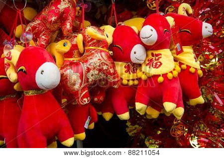 Year of the Ram stuffed animals
