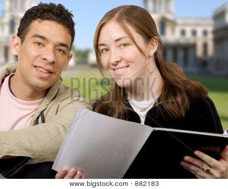 Casual Students At University