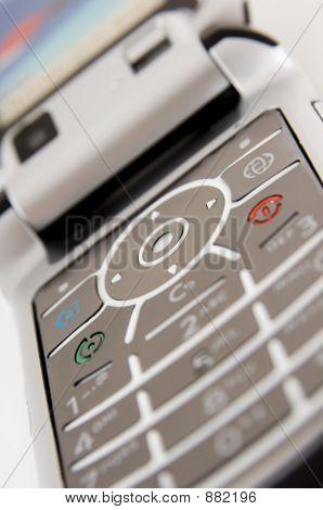 Teclado do telefone móvel