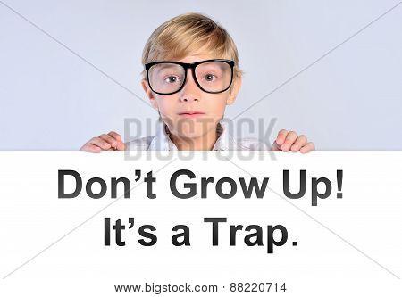 Nerd Boy Say Don't Grow