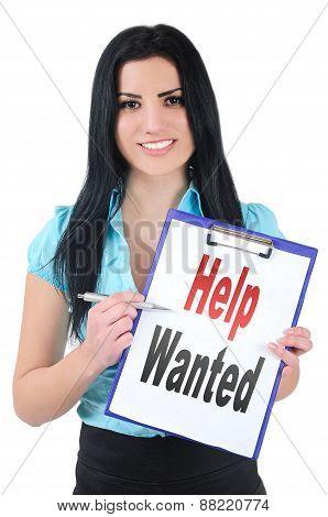 Girl Help Wanted
