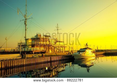 Marina In Early Morning Light