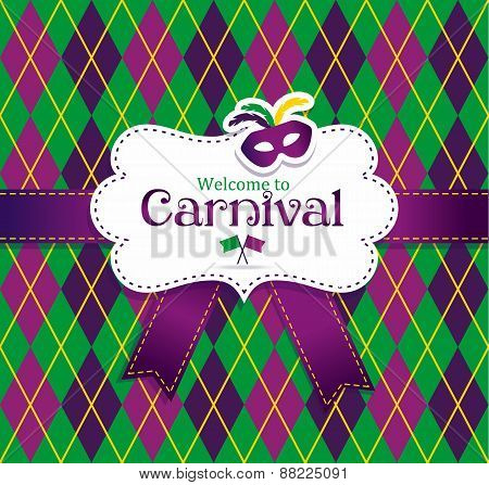 Welcome to Carnival frame
