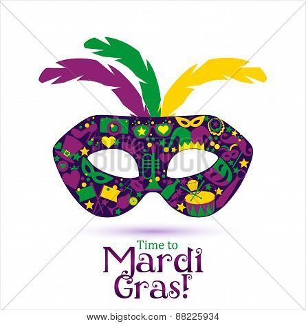 Time to Mardi Gras! Background