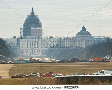 Capitol And Library Of Congress