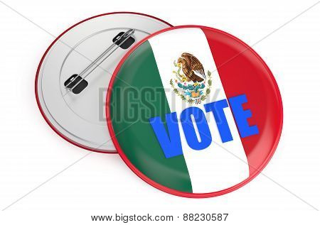 Elections In Mexico Concept