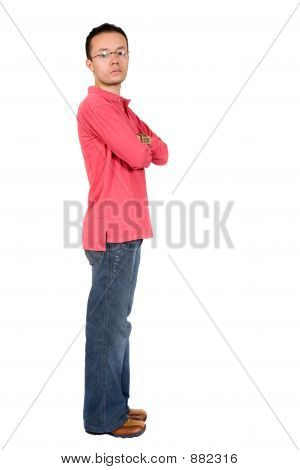 Casual Guy Standing